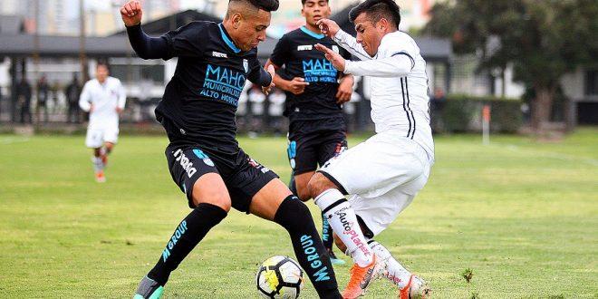 Buenos resultados en el Fútbol Joven ante Deportes Iquique